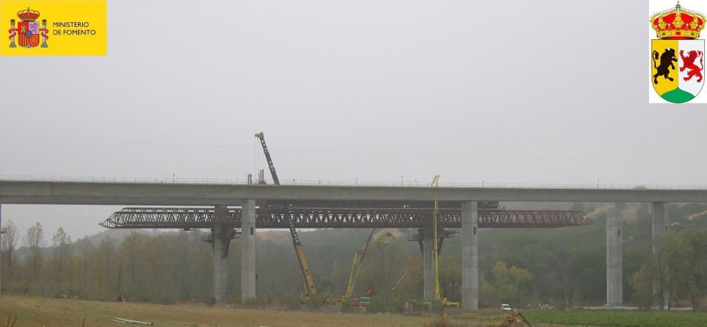 Viaducto del arroyo Adalia. A-11