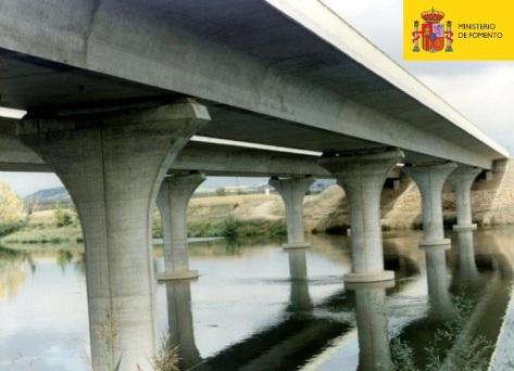 Viaducto de tablero empujado (Variante de Tordesillas)