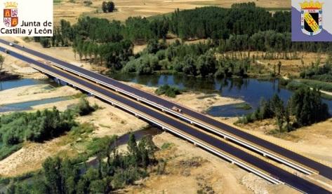 Viaducto sobre el río Esla